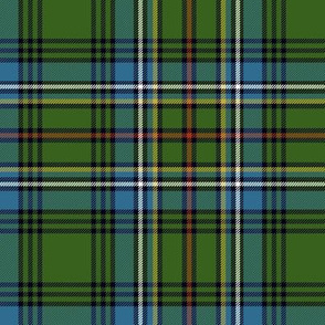 "Cockburn tartan #1, 6"" ancient"