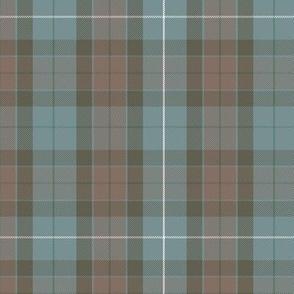 reversed Fraser hunting tartan, spruce stripe