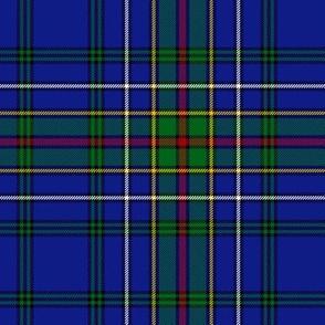 "Cockburn blue tartan, 6"" modern"