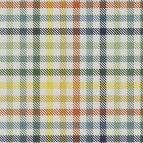 Eight Color Bayeux Palette Gingham Plaid