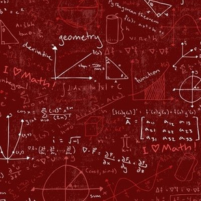 Math Lessons (Red)
