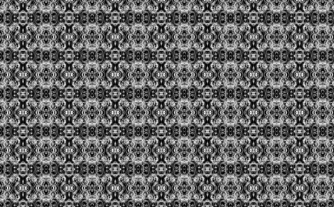 Black and White Circles fabric by barbarapritchard on Spoonflower - custom fabric