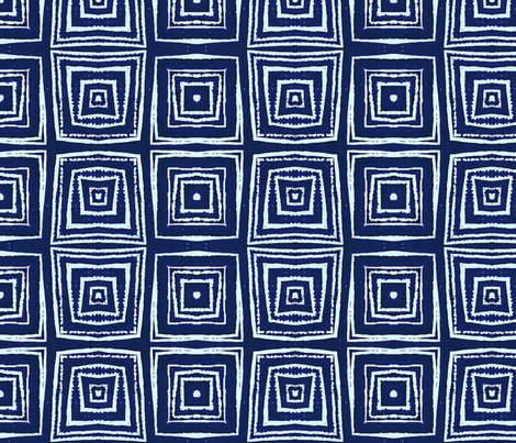 squares_1_blue fabric by ae_fresia on Spoonflower - custom fabric