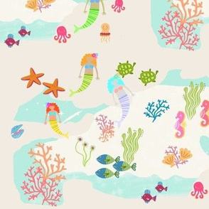 Mermaid sea pals 105 - mermaid lagoon2