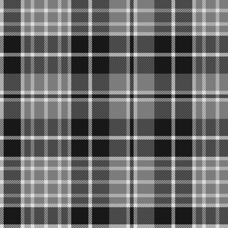 "Clergy tartan, 6"" grey fabric by weavingmajor on Spoonflower - custom fabric"
