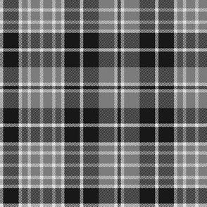 "Clergy tartan, 6"" grey"