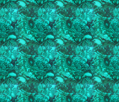 Malachite Jade Green Mint Forest || Natural stone Large scale Home decor _ Miss Chiff Designs  fabric by misschiffdesigns on Spoonflower - custom fabric