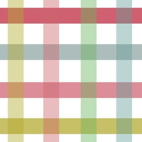 Country Checks In Pastel Mix