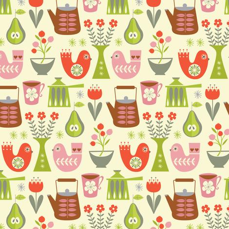 scandi_kitchenette fabric by studiojenny on Spoonflower - custom fabric