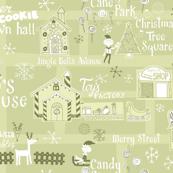 Santa's Village Map