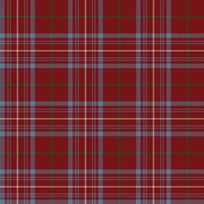 "Rose tartan, 6"" antique"