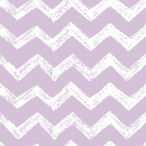 Purple & White Sketched Chevron