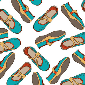 Colourful Shoes Pattern