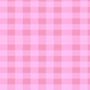 Strawberry Pink Gingham