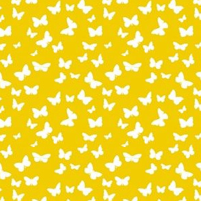 Butterflies in Flight - Seamless Pattern