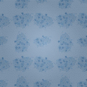 Lacy Blue Design to Match Bluebirds