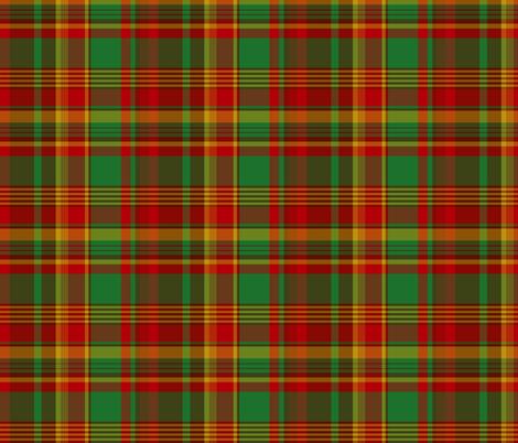 Newfoundland tartan (Pik Mills) fabric by weavingmajor on Spoonflower - custom fabric