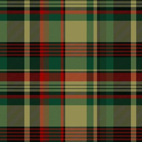 New Brunswick tartan, tan (Pik Mills)