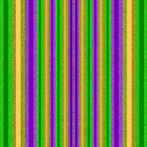 Mardi Gras Small Stripes