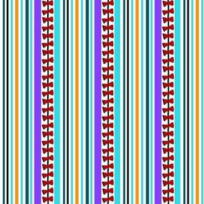 Airborne -Doggie Travel by Kite -striped