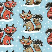 Vintage foxes