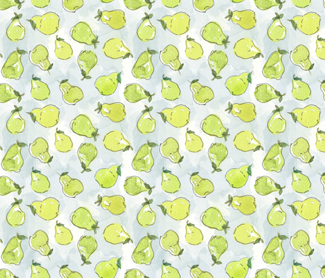 Pyrus fabric by the_outfoxed on Spoonflower - custom fabric