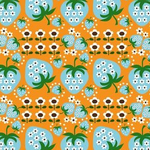 retro strawberry_orange