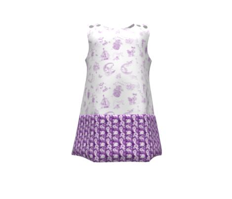 Purple Dots that Match Lavender Toile