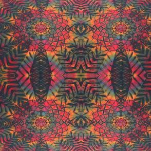 Black Mandala Tie Dye