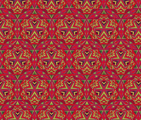 Tribal_pattern_red_green_shop_preview