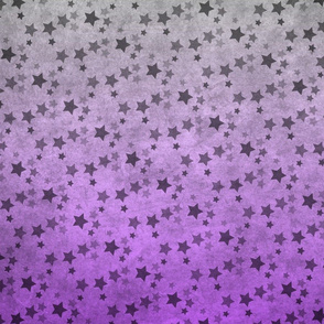 Ombre Purple Star Array