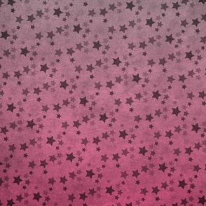 Ombre Pink Star Array