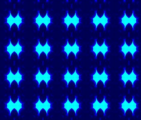Trance Blue fabric by elizabethhollis on Spoonflower - custom fabric