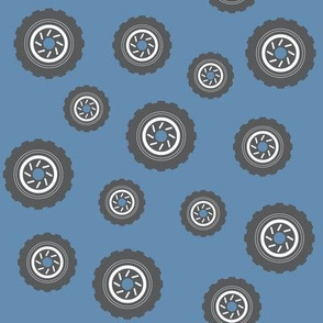 Bouncing Tires