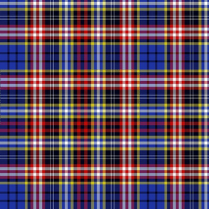 Ogilvy or Drummond of Strathallan tartan, blue, 12""