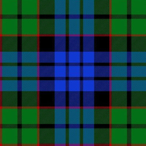 "Fletcher tartan, 6"" modern colors"