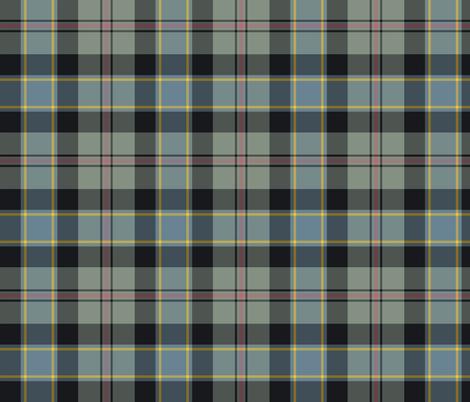 "Ogilvie hunting tartan, 6"" weathered fabric by weavingmajor on Spoonflower - custom fabric"