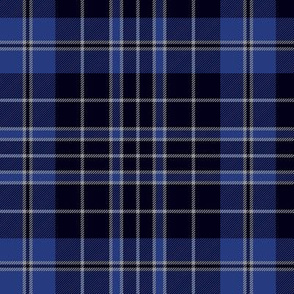 "Priest/Clergy tartan, 6"" blue"