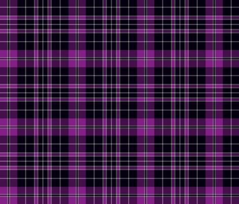 "Priest/Clergy tartan, 6"" purple fabric by weavingmajor on Spoonflower - custom fabric"