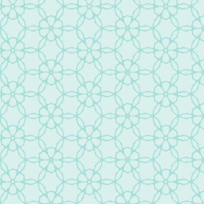 Geometric Soft Flower Pattern