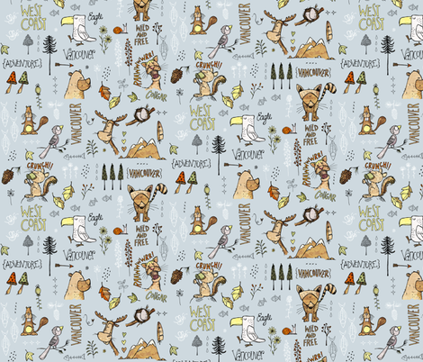 Vancougar - Island removed fabric by mulberry_tree on Spoonflower - custom fabric