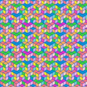 Bohemian geometric hues