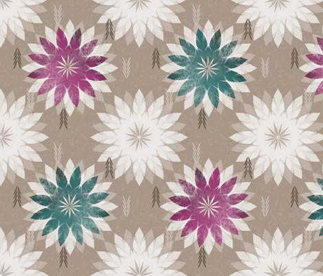 bohemian fabric by gaiamarfurt on Spoonflower - custom fabric