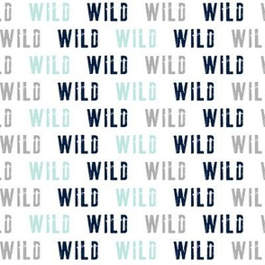 wild  (small scale) // multi colored grey - the bear creek collection