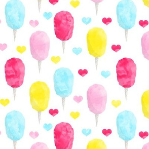 cotton candy (brights) with hearts