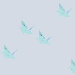 light origami cranes_big