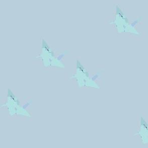 origami cranes_large pattern variant