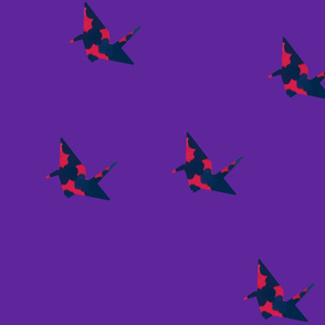 paper crane_large pattern var2