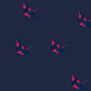 paper crane_large pattern var 3