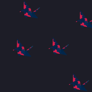 paper crane_large pattern var 4